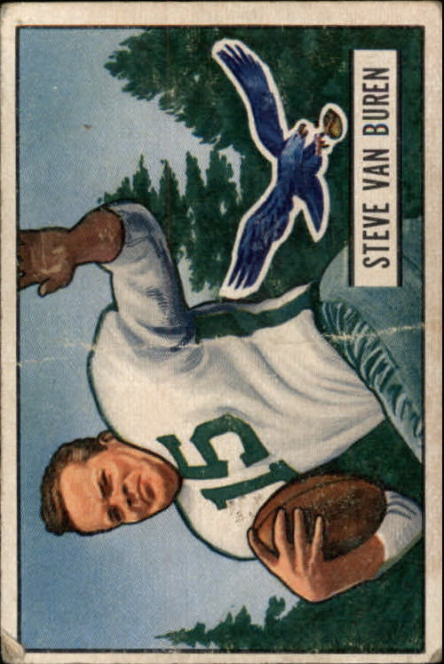 1951 Bowman #10 Steve Van Buren