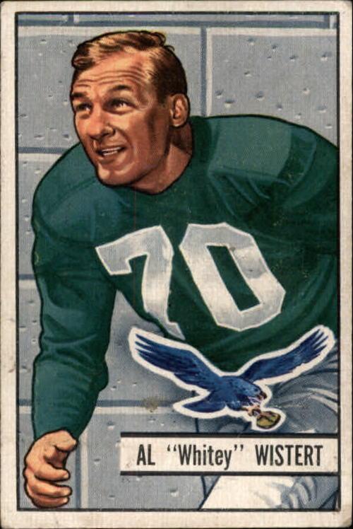 1951 Bowman #11 Whitey Wistert