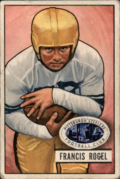 1951 Bowman #24 Fran Rogel