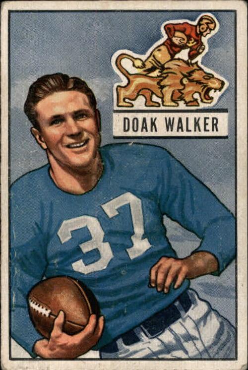 1951 Bowman #25 Doak Walker