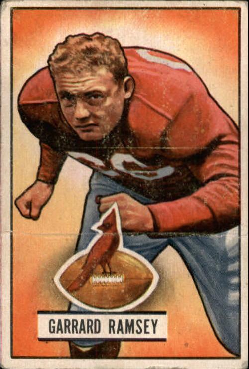 1951 Bowman #28 Buster Ramsey