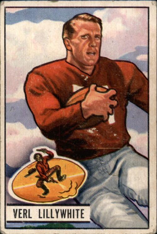 1951 Bowman #33 Verl Lillywhite