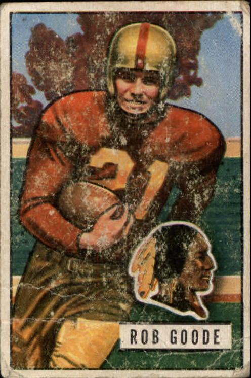 1951 Bowman #36 Bob Goode