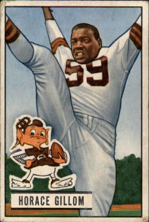 1951 Bowman #37 Horace Gillom RC