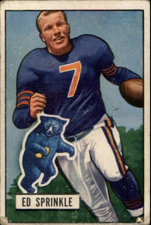 1951 Bowman #51 Ed Sprinkle RC
