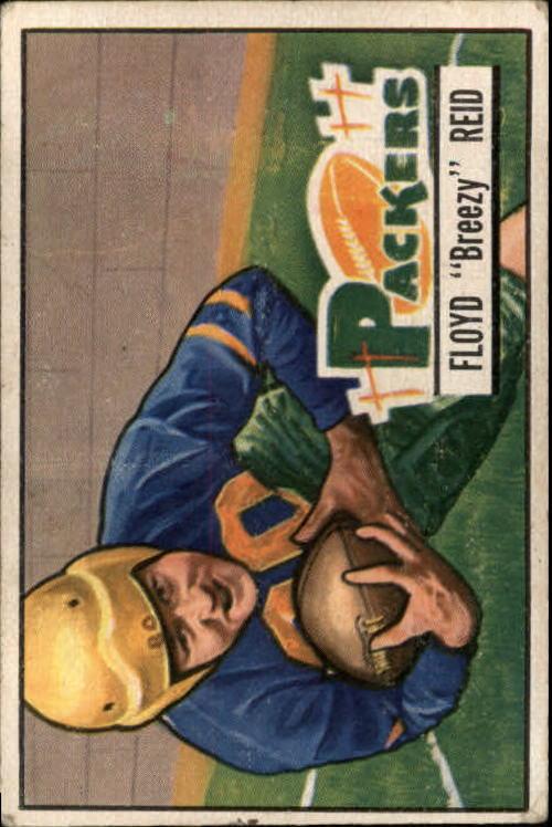 1951 Bowman #52 Floyd Reid RC