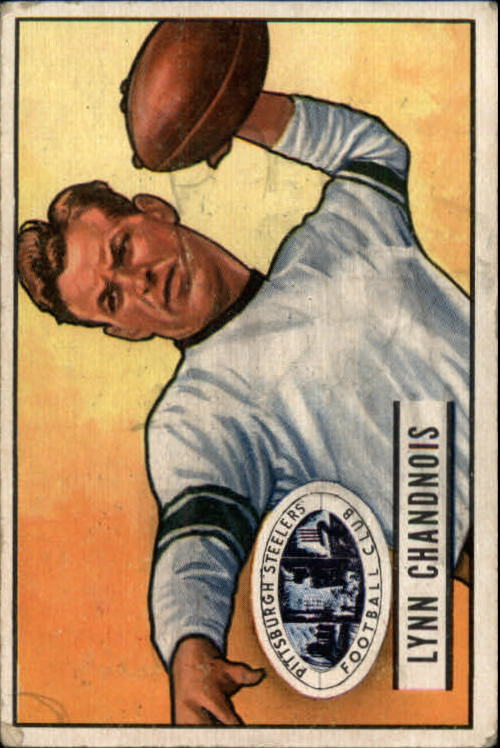 1951 Bowman #60 Lynn Chandnois RC