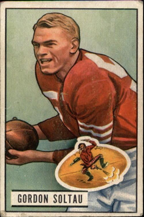 1951 Bowman #67 Gordy Soltau RC