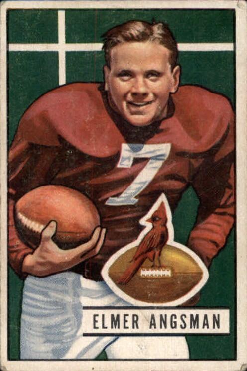 1951 Bowman #97 Elmer Bud Angsman