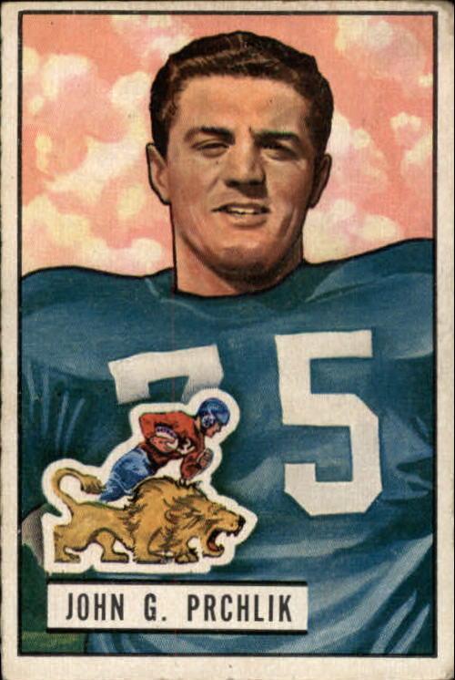 1951 Bowman #100 John Prchlik RC