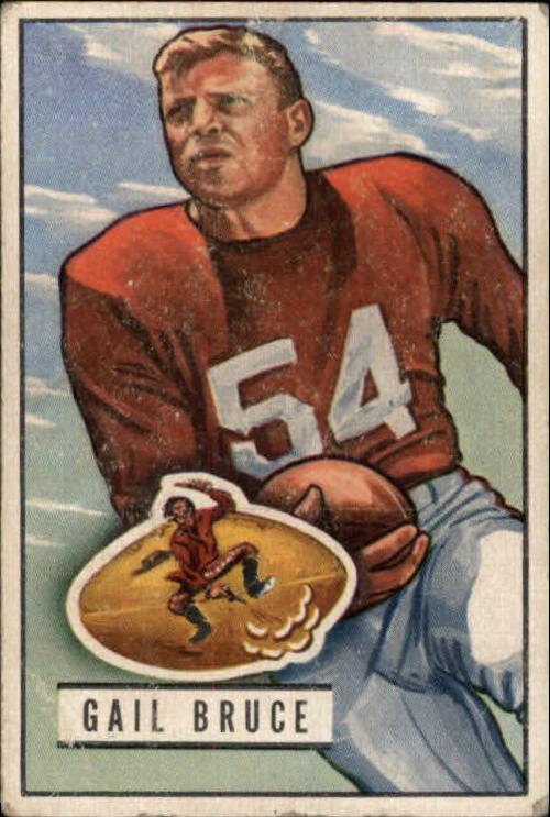1951 Bowman #104 Gail Bruce