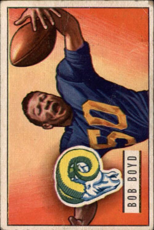 1951 Bowman #113 Bob Boyd RC