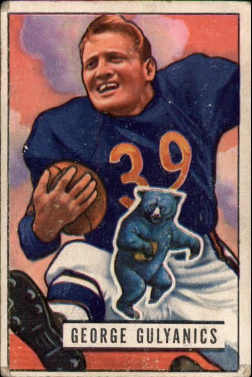 1951 Bowman #121 George Gulyanics