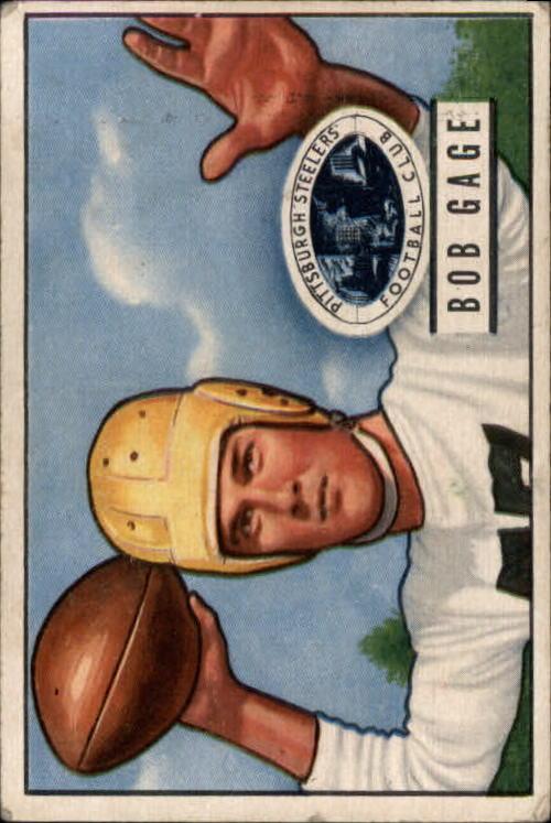 1951 Bowman #131 Bob Gage