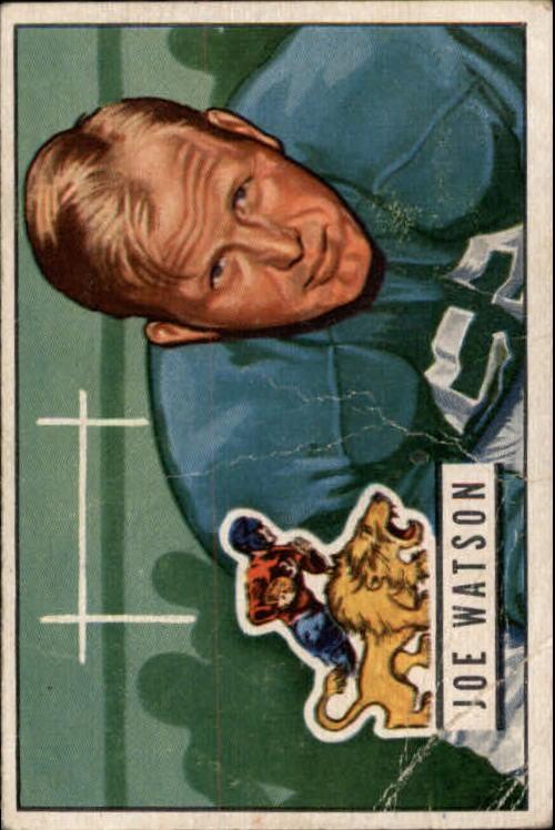 1951 Bowman #133 Joe Watson