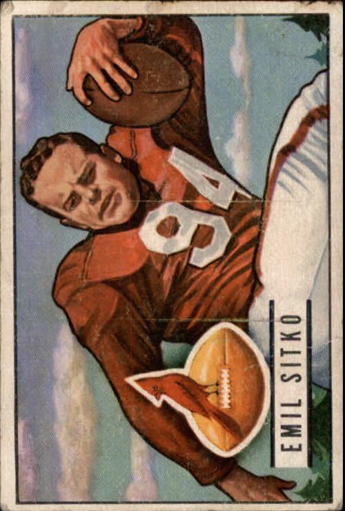 1951 Bowman #139 Emil Sitko