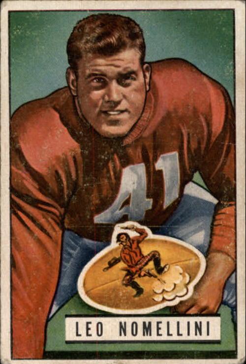 1951 Bowman #140 Leo Nomellini