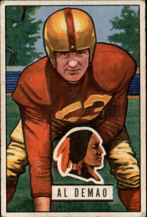 1951 Bowman #143 Al Demao