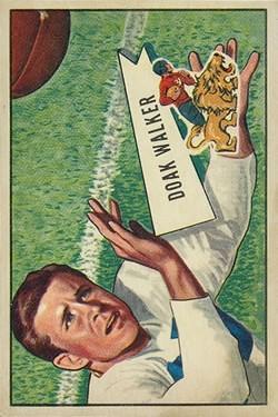 1952 Bowman Large #3 Doak Walker