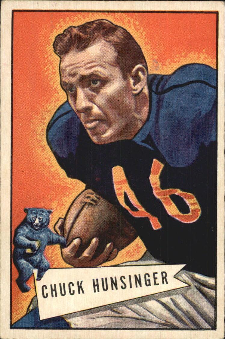 1952 Bowman Large #7 Chuck Hunsinger