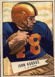 1952 Bowman Large #24 John Karras