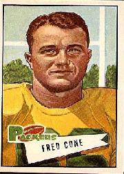 1952 Bowman Large #33 Fred Cone RC