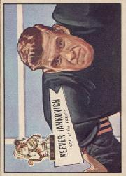 1952 Bowman Large #38 Keever Jankovich RC
