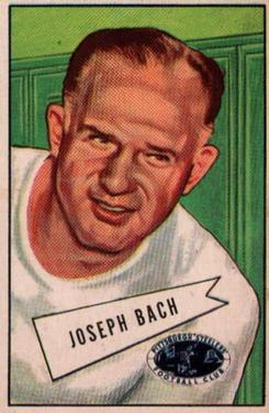 1952 Bowman Large #53 Joe Bach CO RC