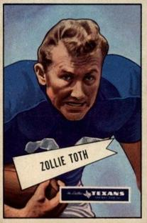 1952 Bowman Small #58 Zollie Toth