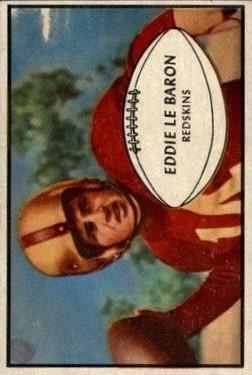 1953 Bowman #1 Eddie LeBaron RC