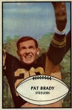 1953 Bowman #10 Pat Brady RC