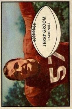1953 Bowman #13 Jerry Groom