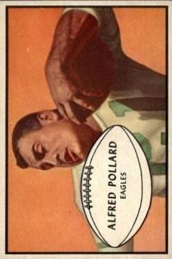 1953 Bowman #14 Al Pollard