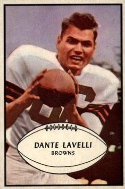 1953 Bowman #15 Dante Lavelli