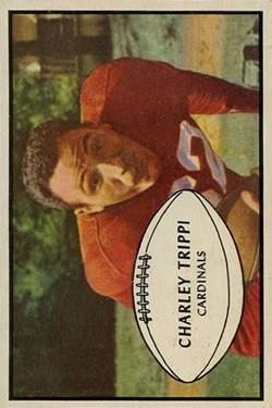 1953 Bowman #17 Charley Trippi