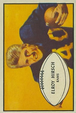 1953 Bowman #22 Elroy Hirsch