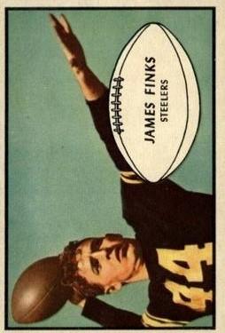 1953 Bowman #23 Jim Finks