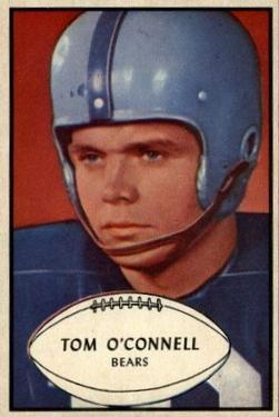 1953 Bowman #42 Tom O'Connell RC