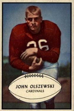 1953 Bowman #45 John Olszewski SP RC