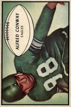 1953 Bowman #52 Al Conway RC