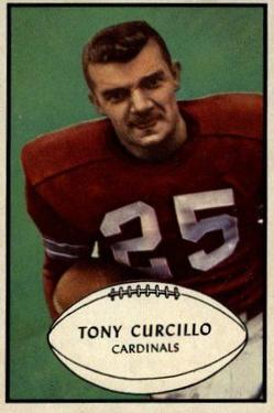 1953 Bowman #61 Tony Curcillo RC
