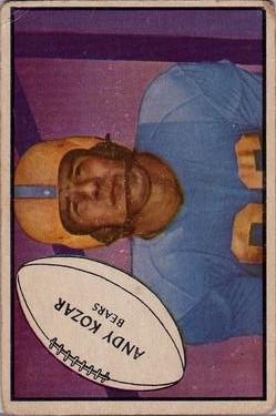 1953 Bowman #69 Andy Kozar RC