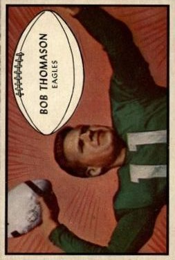 1953 Bowman #83 Bobby Thomason RC