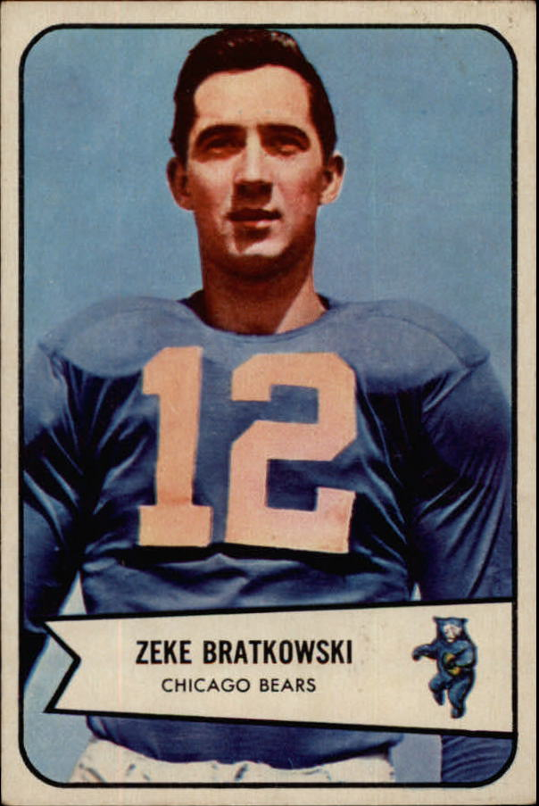 1954 Bowman #11 Zeke Bratkowski RC
