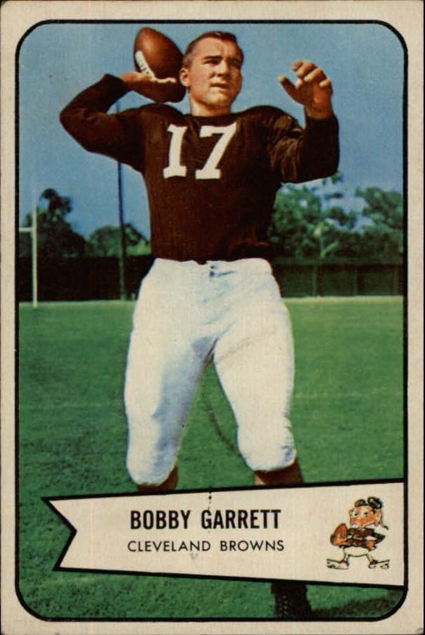 1954 Bowman #16 Bob Garrett RC