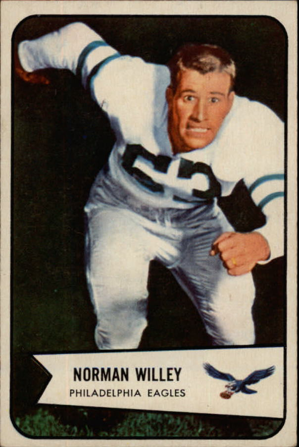 1954 Bowman #21 Norm Willey RC