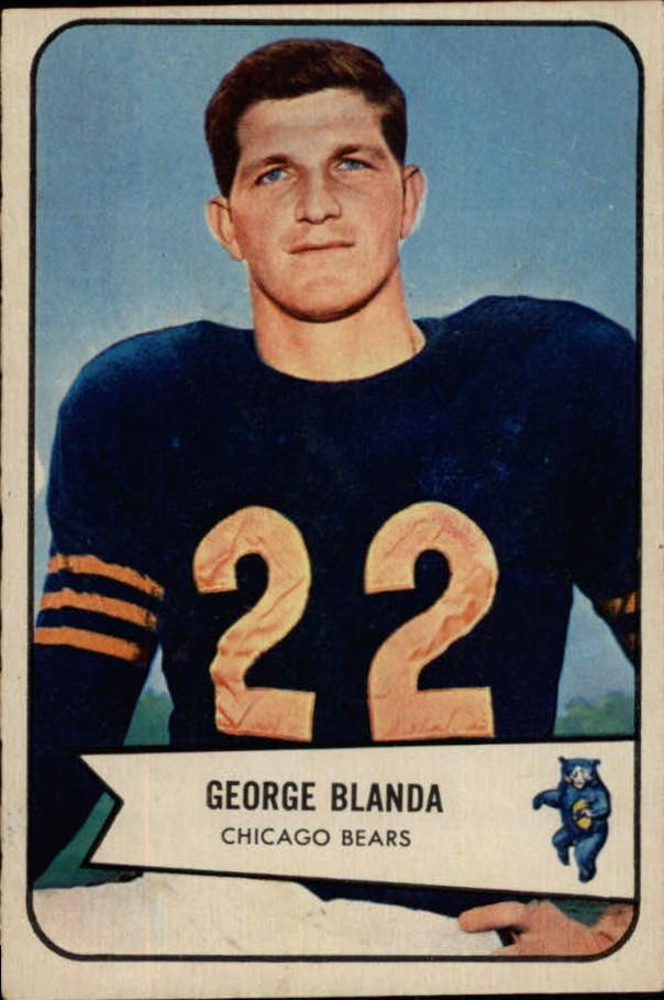 1954 Bowman #23 George Blanda RC