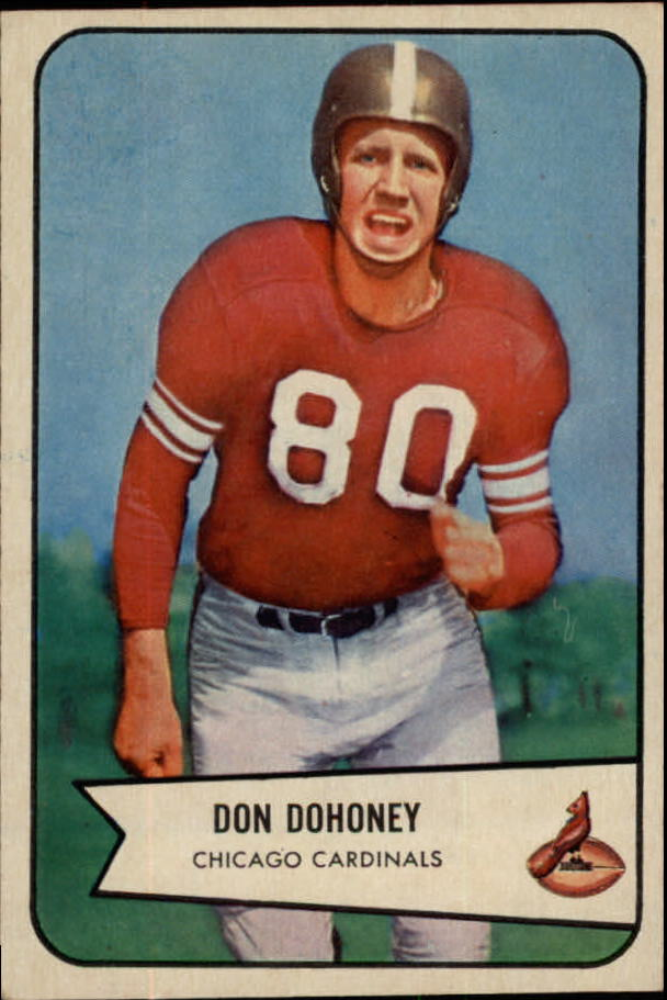 1954 Bowman #24 Don Doheney RC