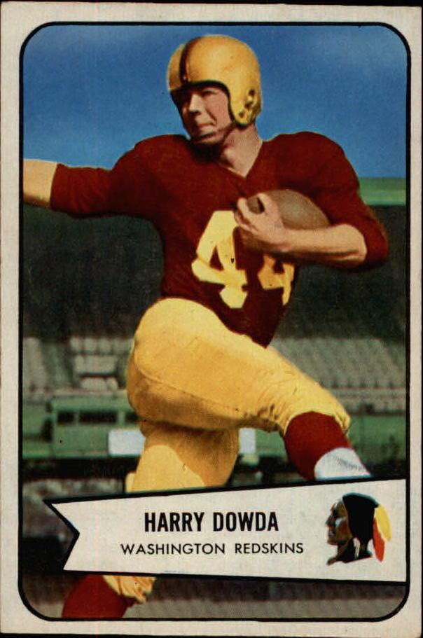 1954 Bowman #27 Harry Dowda RC