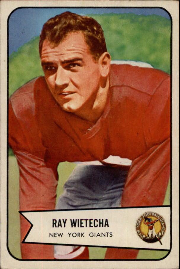 1954 Bowman #31 Ray Wietecha RC